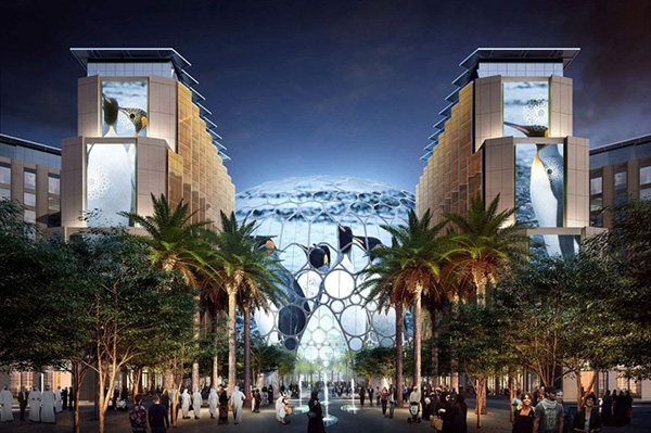 Expo 2020 Awards $182m Contract for Two Pavilions, Access Road