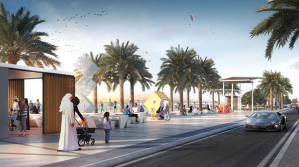 Sharjah Beach to Become Major Tourist Attraction