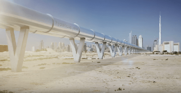 Dubai's RTA Begins Hyperloop Feasibility Study