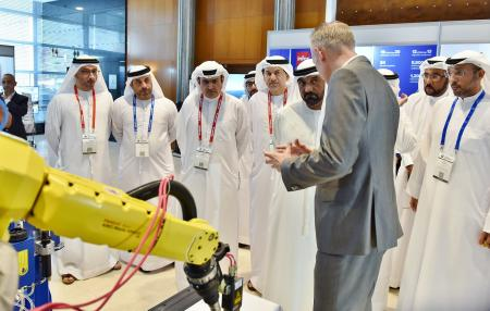 Sheikh Ahmed Bin Saeed Al Maktoum Inaugurates Future Manufacturing & Trade Summit 2017