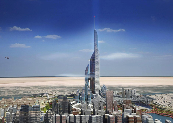 The Unlikely Home of the World's Next Tallest Skyscraper