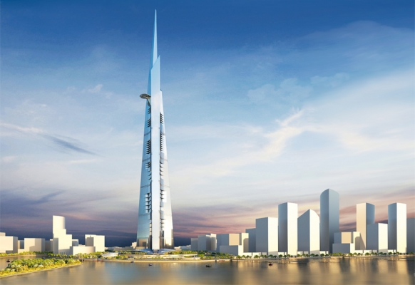 Saudi Arabia's Kingdom Tower will be 3,280ft high when finished