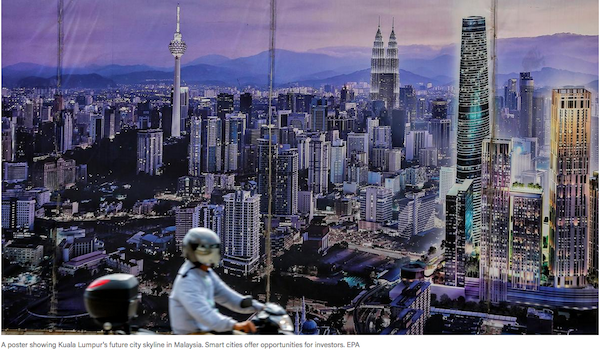 Smart cities look well set to power global economy