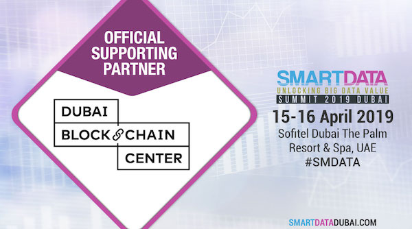 Dubai Blockchain Center backs Smart Data Summit