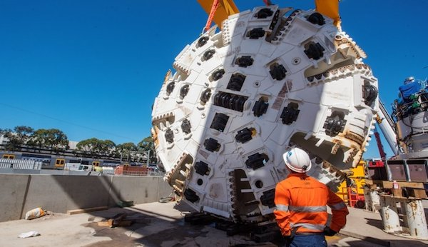 Tunnelling for the Sydney Metro has started