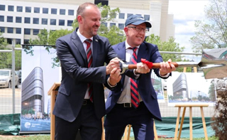 Construction of $300m Constitution Place development begins in Canberra city
