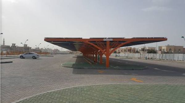 Dubai's First Smart Park Boasts e-charging Bays, Solar Panels