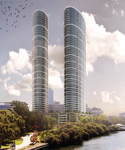 Billions in Parramatta projects in one day