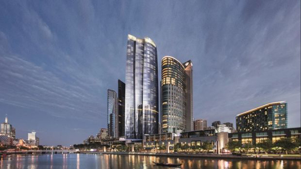 Crown casino wins approval for 90-storey tower at Southbank