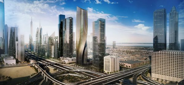 Twisting Wasl Tower in Dubai Set for Construction